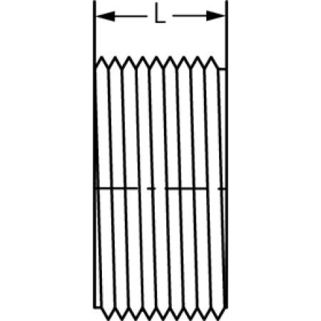 Spears P110-040 4 PVC DWV FLUSH C/O PLUG MPT SPE P110-040